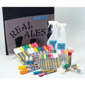 Chalk Pens & Stencils