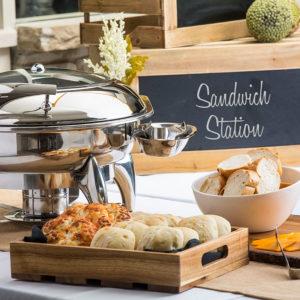 wooden Bowls & Food Crates