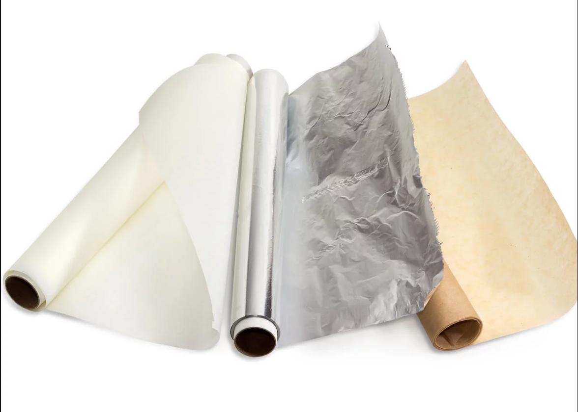 Foil and Baking Parchment